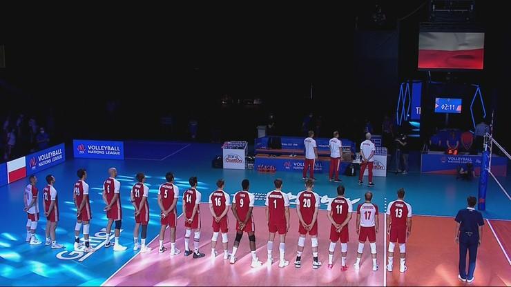 Finał Ligi Narodów siatkarzy: Polska – Brazylia 1:3. Skrót meczu