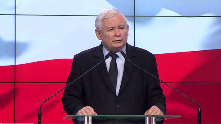 Kaczyński: siły zewnętrzne chcą decydować, kto będzie w Polsce rządził