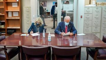 Joe Biden zagłosował w wyborach prezydenckich