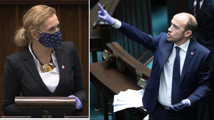 Posłowie w maskach i rękawiczkach. Sejm w czasie koronawirusa