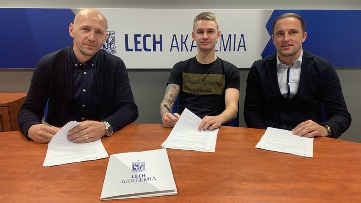 Lech przedłużył umowę z młodym pomocnikiem