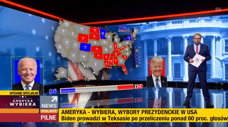 Wybory w USA. Rośnie przewaga Bidena [ZAPIS RELACJI]