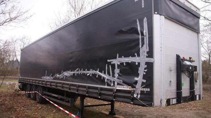 Tak wygląda ciężarówka Polaka zniszczona w zamachu w Berlinie