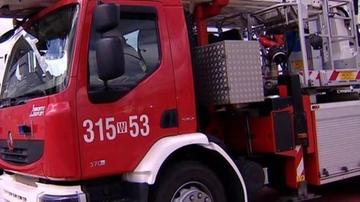 Strażacy: mniej interwencji niż w ubiegłoroczną noc sylwestrową