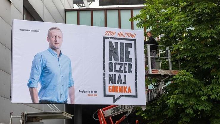 """Glik bierze udział w kampanii społecznej. """"Nie oczerniaj górnika"""""""