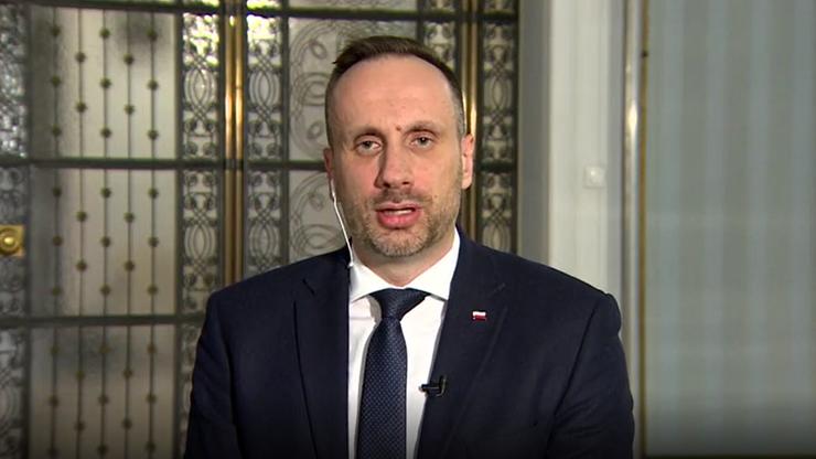 Wiceminister Janusz Kowalski: moimi szefami są Ziobro i Sasin