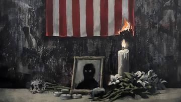Banksy nowym dziełem komentuje śmierć George'a Floyda