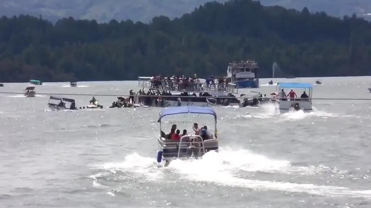 Kolumbia: zatonął statek z turystami. Co najmniej 9 osób nie żyje, wielu wciąż nie odnaleziono