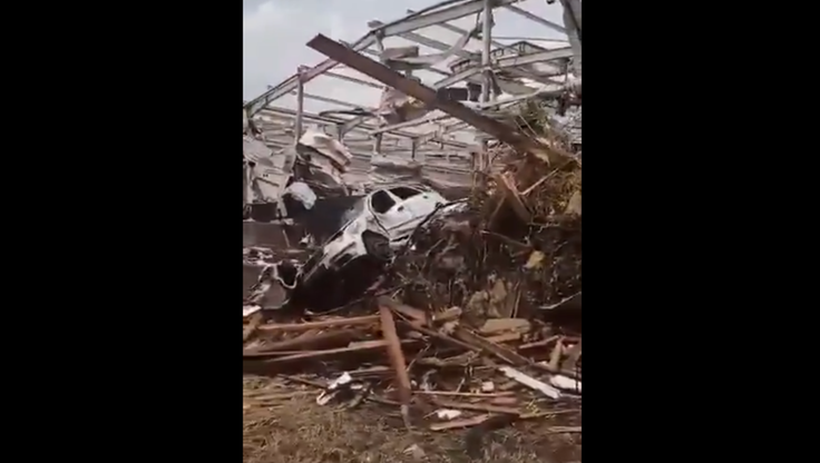 Tornado w Czechach. Ponad stu rannych, zniszczonych jest wiele budynków