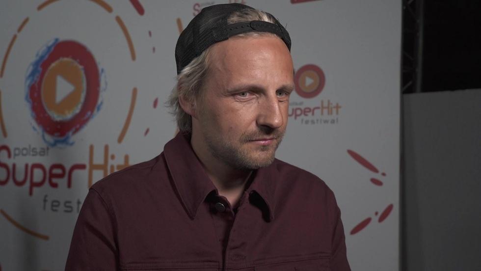 Paweł Domagała na Polsat SuperHit Festiwal 2021