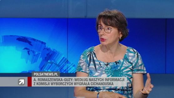 Gość Wydarzeń - Agnieszka Romaszewska-Guzy
