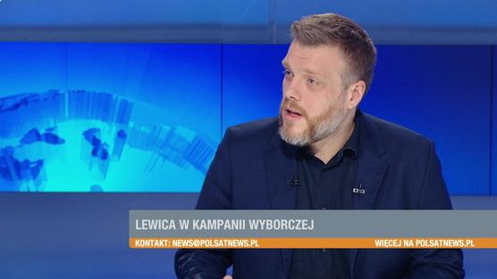 Gość Wydarzeń - Adrian Zandberg