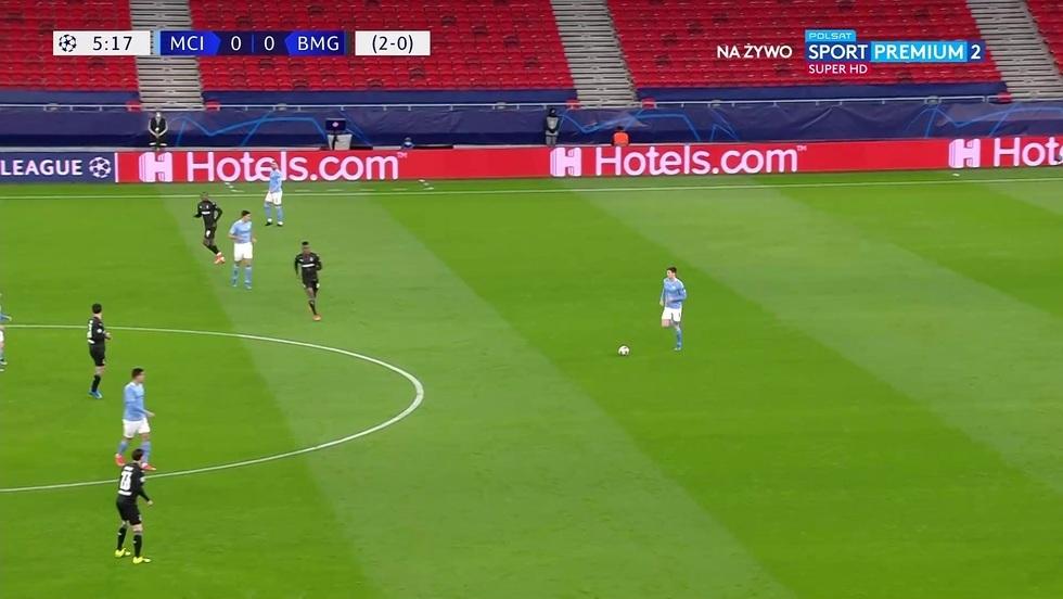 Manchester City - Borussia M'Gladbach
