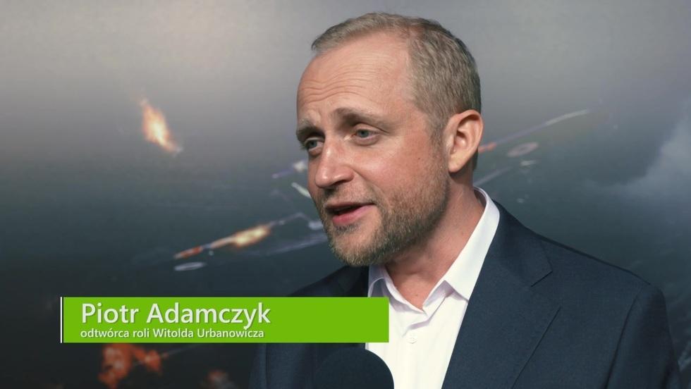 """Piotr Adamczyk na premierze """"Dywizjon 303. Historia prawdziwa"""""""