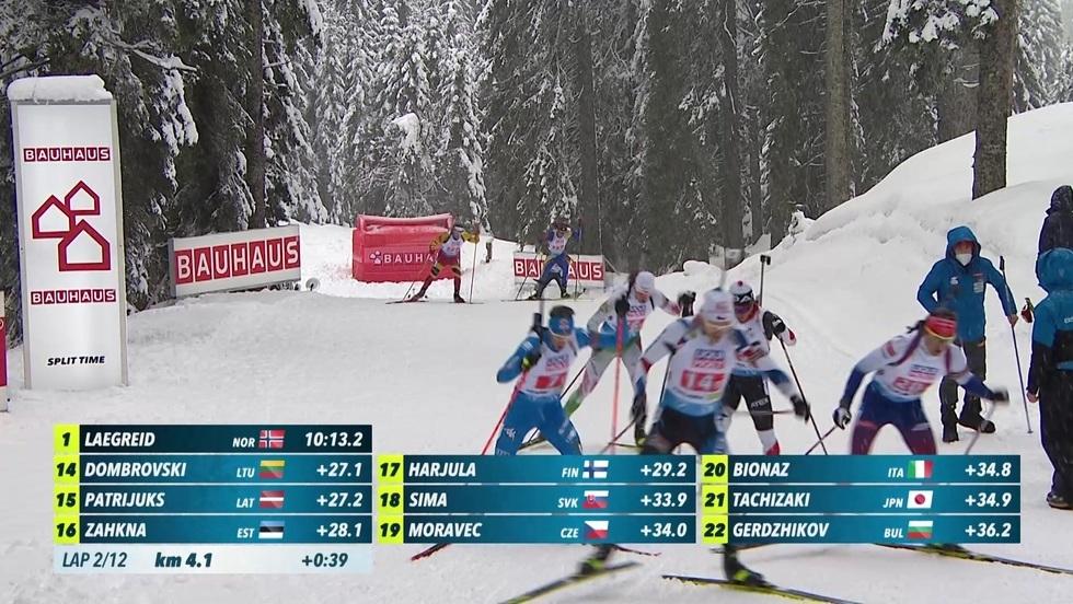 IBU MŚ w biathlonie, Pokljuka - sztafeta mieszana