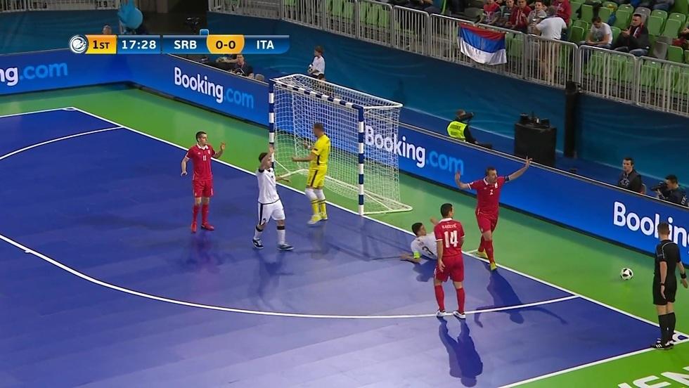 Serbia - Włochy, skrót meczu