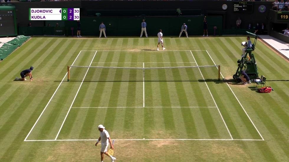 Novak Djokovic - Denis Kudla