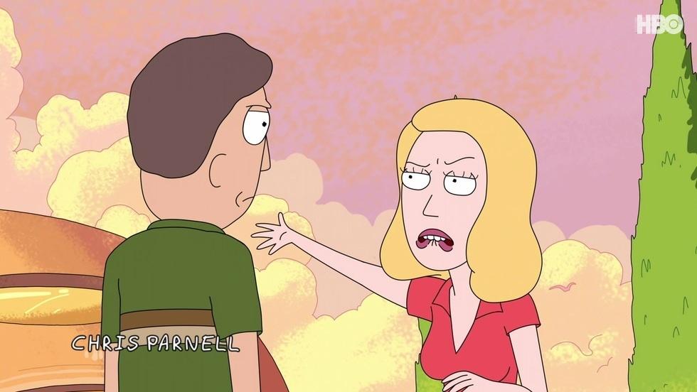 Rick i Morty II, odc. 7